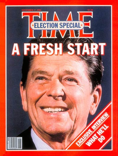 President elect reagan
